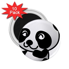 Adorable Panda 2.25  Magnets (10 pack)