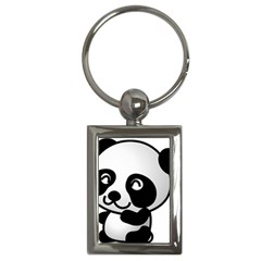 Adorable Panda Key Chains (Rectangle)
