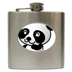 Adorable Panda Hip Flask (6 oz)