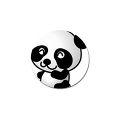 Adorable Panda Golf Ball Marker