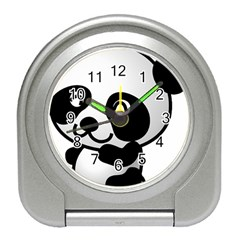 Adorable Panda Travel Alarm Clocks