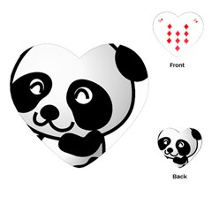Adorable Panda Playing Cards (Heart)