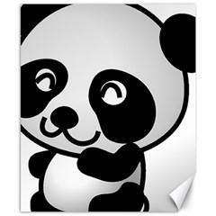Adorable Panda Canvas 8  x 10