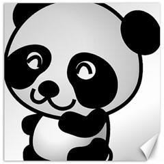 Adorable Panda Canvas 20  x 20