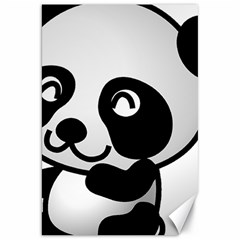 Adorable Panda Canvas 20  x 30