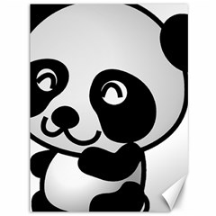 Adorable Panda Canvas 36  x 48