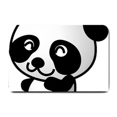 Adorable Panda Small Doormat