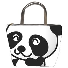 Adorable Panda Bucket Bags