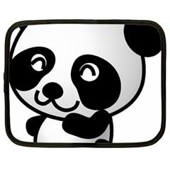 Adorable Panda Netbook Case (XXL)