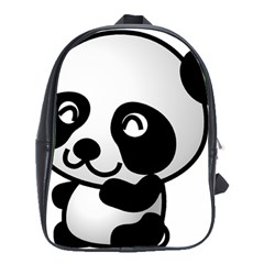 Adorable Panda School Bags(Large)