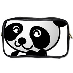 Adorable Panda Toiletries Bags