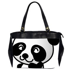 Adorable Panda Office Handbags (2 Sides)