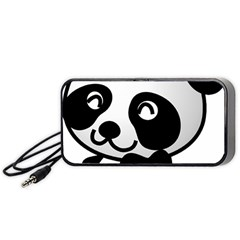Adorable Panda Portable Speaker (Black)