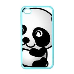 Adorable Panda Apple iPhone 4 Case (Color)