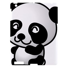 Adorable Panda Apple iPad 3/4 Hardshell Case