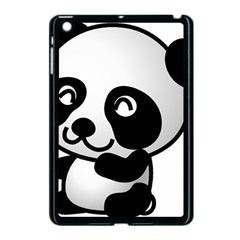 Adorable Panda Apple iPad Mini Case (Black)