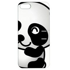 Adorable Panda Apple iPhone 5 Hardshell Case with Stand