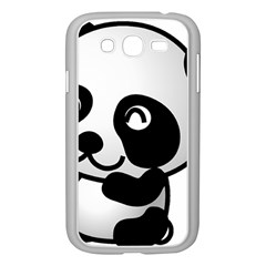 Adorable Panda Samsung Galaxy Grand DUOS I9082 Case (White)