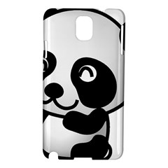 Adorable Panda Samsung Galaxy Note 3 N9005 Hardshell Case