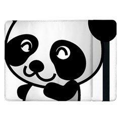 Adorable Panda Samsung Galaxy Tab Pro 12.2  Flip Case
