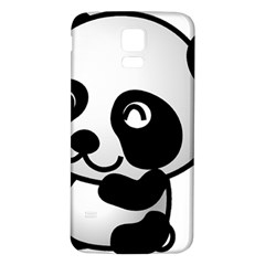 Adorable Panda Samsung Galaxy S5 Back Case (White)