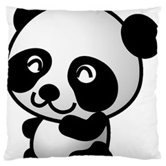 Adorable Panda Standard Flano Cushion Case (Two Sides)