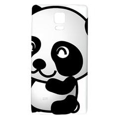 Adorable Panda Galaxy Note 4 Back Case