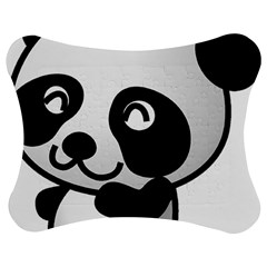 Adorable Panda Jigsaw Puzzle Photo Stand (Bow)