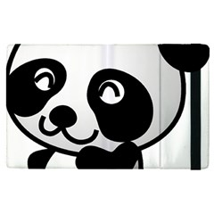 Adorable Panda Apple iPad Pro 12.9   Flip Case
