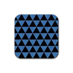 TRI3 BK-MRBL BL-PNCL Rubber Square Coaster (4 pack)