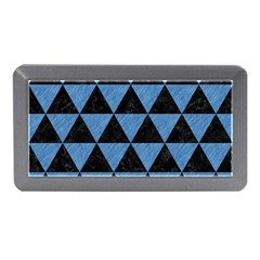 Triangle3 Black Marble & Blue Colored Pencil Memory Card Reader (mini)