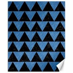 TRI2 BK-MRBL BL-PNCL Canvas 11  x 14