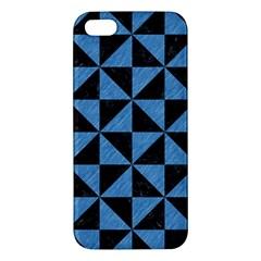 TRI1 BK-MRBL BL-PNCL Apple iPhone 5 Premium Hardshell Case