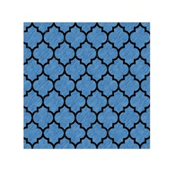 TIL1 BK-MRBL BL-PNCL (R) Small Satin Scarf (Square)