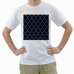 TIL1 BK-MRBL BL-PNCL Men s T-Shirt (White)