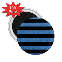 STR2 BK-MRBL BL-PNCL 2.25  Magnets (100 pack)