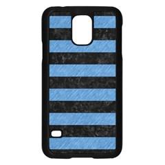 STR2 BK-MRBL BL-PNCL Samsung Galaxy S5 Case (Black)