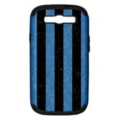 STR1 BK-MRBL BL-PNCL Samsung Galaxy S III Hardshell Case (PC+Silicone)