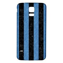 STR1 BK-MRBL BL-PNCL Samsung Galaxy S5 Back Case (White)