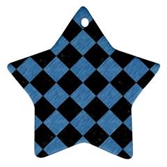 SQR2 BK-MRBL BL-PNCL Ornament (Star)