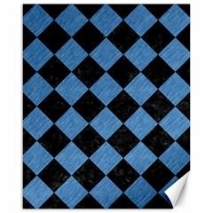 SQR2 BK-MRBL BL-PNCL Canvas 16  x 20