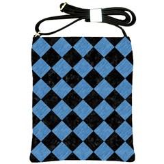 SQR2 BK-MRBL BL-PNCL Shoulder Sling Bags