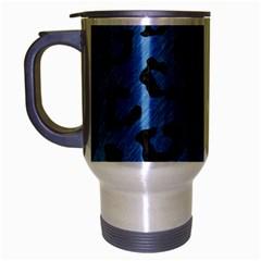 SKN5 BK-MRBL BL-PNCL Travel Mug (Silver Gray)