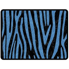 SKN4 BK-MRBL BL-PNCL (R) Double Sided Fleece Blanket (Large)