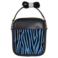 SKN4 BK-MRBL BL-PNCL Girls Sling Bags