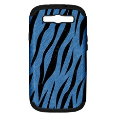 SKN3 BK-MRBL BL-PNCL (R) Samsung Galaxy S III Hardshell Case (PC+Silicone)