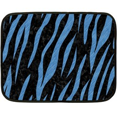 SKN3 BK-MRBL BL-PNCL Double Sided Fleece Blanket (Mini)