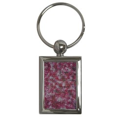 Pink texture                 Key Chain (Rectangle)