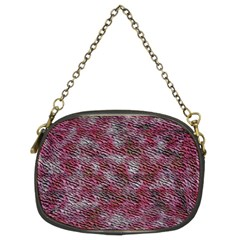 Pink texture            Chain Purse (Two Sides)
