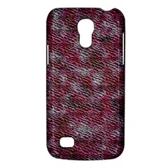 Pink texture           Samsung Galaxy S4 I9500/I9505 Woven Pattern Leather Folio Case